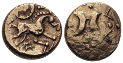 KELTEN IN ENGLAND. ICENI  Stater Au ss+ , 5.32gr.