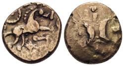 KELTEN IN ENGLAND. ICENI  Stater Au ss+ , 5.39gr.