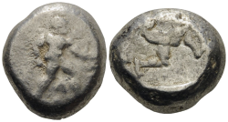 PAMPHYLIEN. ASPENDOS  Stater Ag ss , 10.46gr.